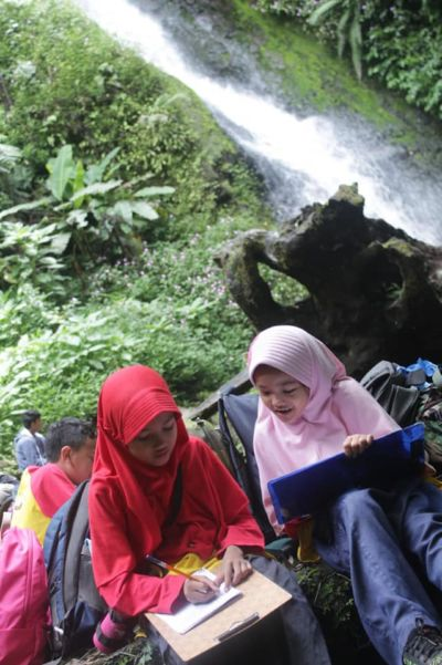 Fieldtrip Taman Nasional Gunung Gede Pangrango